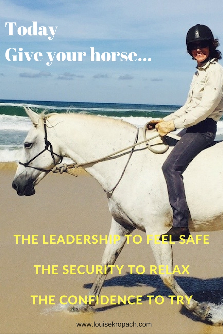 The leadership to feel safeThe security to relaxthe confidence to try